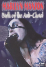 DVD MUSIC VIDEO ROCK HARD METAL-MARILYN MANSON/BIRTH OF THE ANTI CHRIST is dead