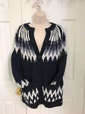 NWT Abercrombie And Fitch Women BUTTON DOWN SWEATER CARDIGAN, SMALL