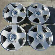 Set 4 cerchi in lega 15x6J 5X100 ET38 Volkswagen Golf Mk4 97-03 usati (48583)