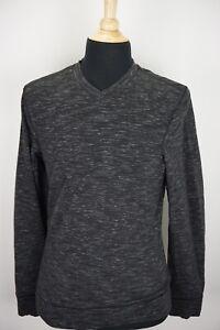 Lululemon Transit Long Sleeve V-Neck Heathered Marled Gray Long Sleeve Shirt  S