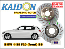 "BMW 118i F20 disc rotor KAIDON (front) type ""BS"" spec"