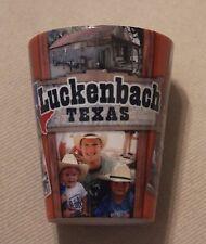 Luckenbach Texas, Ceramic Shot Glass, Cuppa