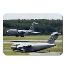 c 17 globemaster iii at mcguire air force base plane Textile Mouse Mat