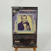 VINTAGE Original Recordings by Benny Goodman Cassette RCA #PDK2-1014 1982
