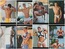 ALL AMERICAN GUYS 5 FLEX! PLAYGIRL MEN CAMPUS MEN SPEEDOS UNDERWEAR UNDERGEAR