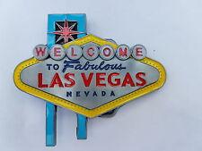 Gürtelschnalle Welcome to Las Vegas Nevada Belt Buckle Skull NEU dt.Händler
