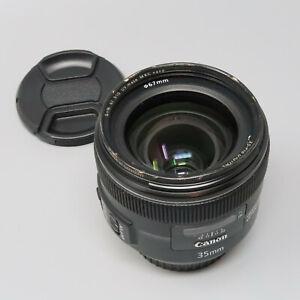 Canon EF 35mm f/2 IS USM LensFor Canon EOS DSLR - Read Description
