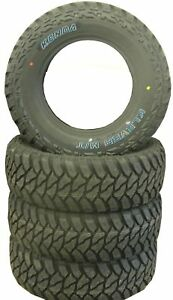 4 New Tires 245 70 17 Kenda Klever MT Mud 10 Ply LRE LT245/70R17 USAF
