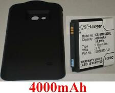 Case + Battery 4000mAh type EB585157LU For Samsung GT-I8530 Galaxy Beam