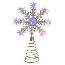 Plastic Snowflake Christmas Tree Ornaments