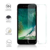 Protecteur d'écran 9H réel dur en verre trempé Film pour iPhone 5 6 7 8 plus X A