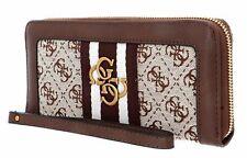 GUESS Damen Geldbörse Accessoires DESIGNER Geldtaschen braun Purse Luxus