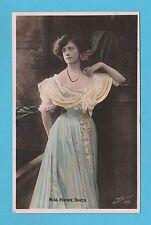 ACTRESS -  ROTOPHOT  POSTCARD - ACTRESS -  MISS  MINNIE  BAKER  -  1906