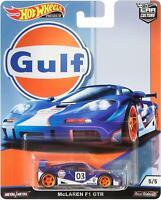 Hot Wheels Premium Car Culture Gulf - McLaren F1 GTR
