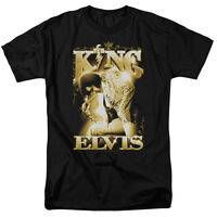 Elvis Presley THE KING Licensed Adult T-Shirt All Sizes