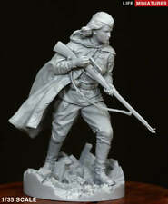 Life Miniatures WW2 Russian Red Army Female Sniper 1/35th Unpainted figure kit