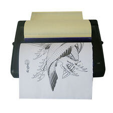 Tattoo Transfer Copier Print Machine Thermal Stencil Paper Maker A5-A4 5W 8.3""