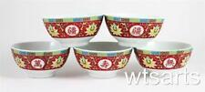 Scodelle da cucina rosso in porcellana
