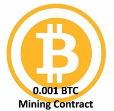 Mining Contract 4 Hours (Bitcoin) Processing Speed (TH/s) Guaranteed 0.001 BTC