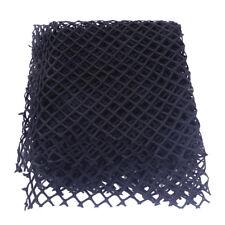 Red de peces Tela Malla poliéster material elástico Negro / Blanco 170 x 50cm