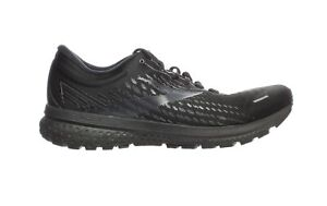 Brooks Mens Ghost 13 Black/Black Running Shoes Size 14 (2E) (1873038)