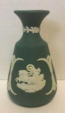 "Wow 41% Off Wedgwood Rare Teal Bud Vase 4 3/4"" Jasperware - Excellent"