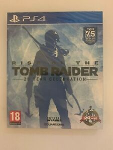 PS4 Rise of The Tomb Raider: 20 Year Celebration  * NEW & SEALED*