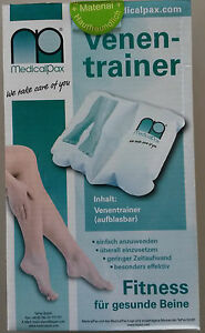 MEDICALPAX - Orthopädischer Venentrainer - Fußwippe - für Venentraining * NEU *