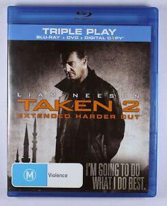 Taken 2 Blu Ray Extended Harder Cut