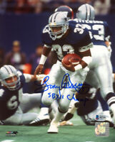 TONY DORSETT SIGNED 8x10 PHOTO + SB XII CHAMP DALLAS COWBOYS LEGEND BECKETT BAS