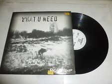 FLIGHTCRANK - What u need - 2001 UK 4-track Vinyl Single