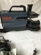 Vintage Rca Pro Edit Vhs Camcorder with Accessories in Original Hard Case