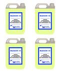 4 x 5L Professional Bleach 10 Yellow General Household Industrial Bleach 20L