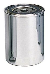 "Moroso For Ford / Chrysler Type Design 3/4""16UNF Thread Chrome Oil Filter 22400"