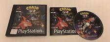 Crash Bandicoot 2 II Cortex Strikes Back Sony Playstation PS1 PAL Complete