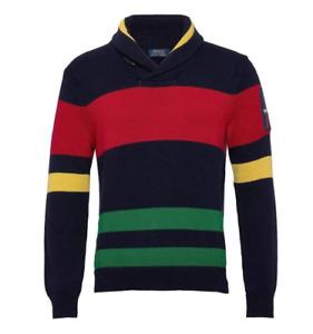 XS, S, M Polo Ralph Lauren Men's knit-cable sweater 12M  style: 710787164001