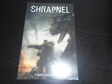 SHRAPNEL  Promo Preview NM Radical Comics