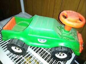 Vintage Sand And Garden Toys Ride On Pickup Truck Child Size Push Along Vehicle