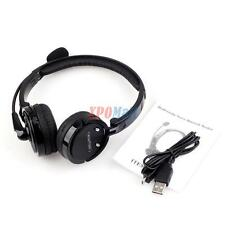 Wireless Bluetooth Headphone Stereo Noise Canceling Headset Mic For iPhone Samsu