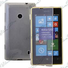 Funda Carcasa Cartera Tipo libro Silicona TRANSPARENTE Nokia Lumia 520/ 525