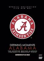 DEFINING MOMENTS: STORIES BEHIND ALABAMA FOOTBALL'S GREATEST PLAYS NEW DVD SET