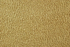 Ecopelliccia riccia nocciola e oro STOFFA AL METRO TESSUTO A METRAGGIO