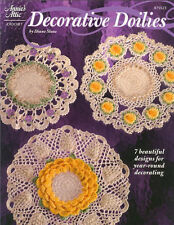 DECORATIVE DOILIES Crochet Patterns Paperback Crafts Book in English ~ NEW