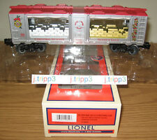 LIONEL 6-29699 SILVER GOLD CHRISTMAS RESERVE MINT CAR O GAUGE TOY TRAIN FREIGHT