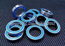 (10 PCS) 6702-2RS (15x21x4 mm) Rubber Sealed Ball Bearing Bearings 6702RS Blue
