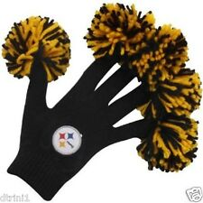 Pittsburgh Steelers NFL Spirit Fingerz Pom Pom Gloves