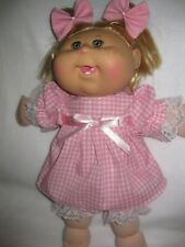"HOT PINK Bath Robe w// Belt Doll Clothes For AG 14/"" Wellie Wisher Wishers Debs"