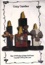 COZY CANDLES - Woodworking PATTERN - Holiday DECOR