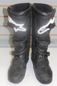 AlpineStars Tech 3. Mens Size 8 Motorcycle Dirt Bike Motocross Boots