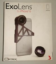 Ziess ExoLens Wide-Angle & 3X Zoom Telephoto KIT for iPhone 6 / 6S - FREE SHIP!